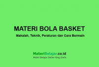 Materi bola basket