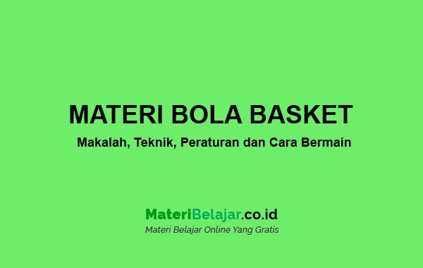 Contoh Kliping Bola Basket