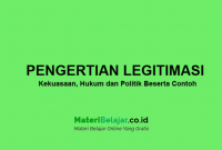 Pengertian legitimasi