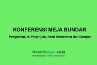 konferensi meja bundar
