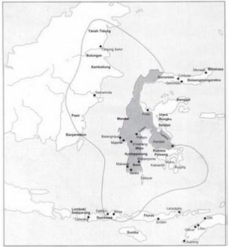 letak kerajaan gowa tallo