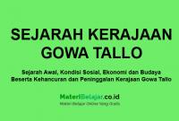 sejarah kerajaan gowa tallo