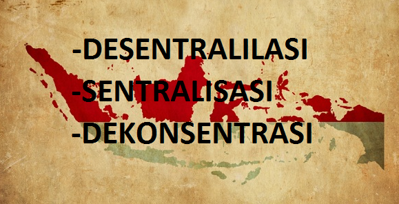 Desentralisasi-Sentralisasi-Dekonsentrasi