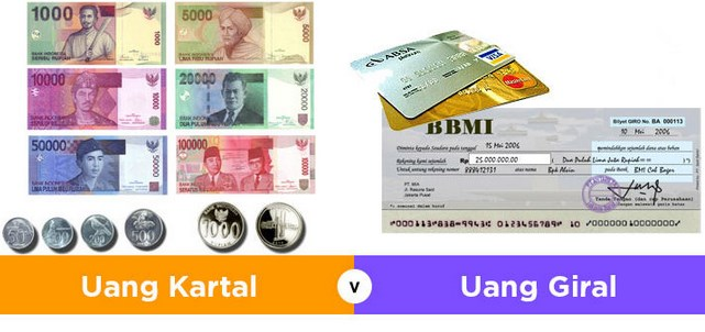 Uang kartal & Uang Giral