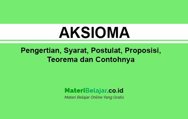 aksioma