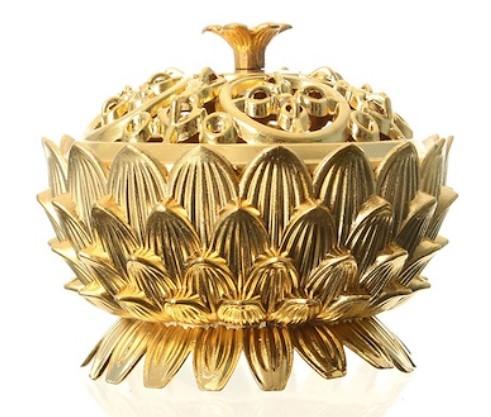 kerajinan logam lotus mini