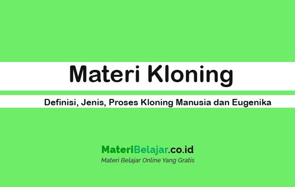materi kloning