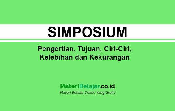 pengertian simposium