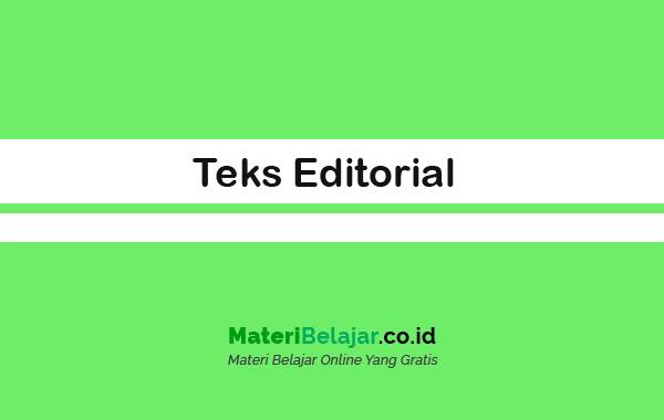 Teks Editorial