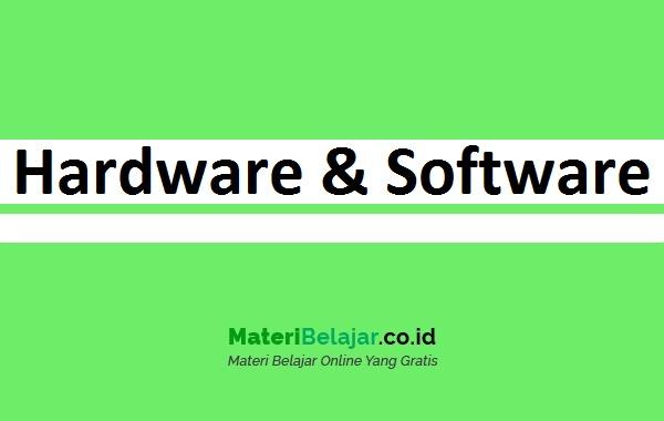 Contoh Hardware dan Software