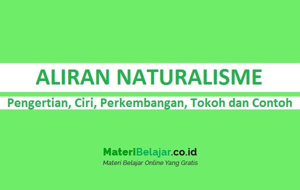 Aliran Naturalisme Pengertian Ciri Tokoh Dan Contoh Lengkap