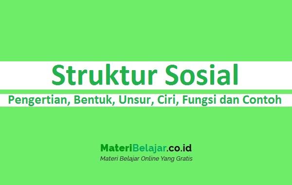 Struktur sosial