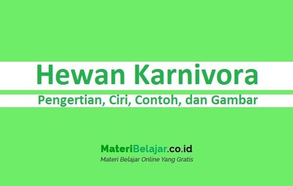 Hewan Karnivora
