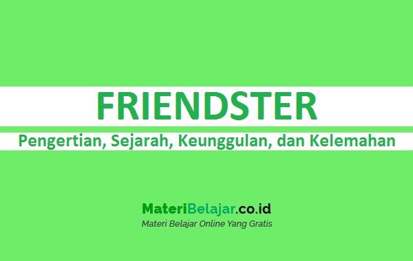 Pengertian Friendster