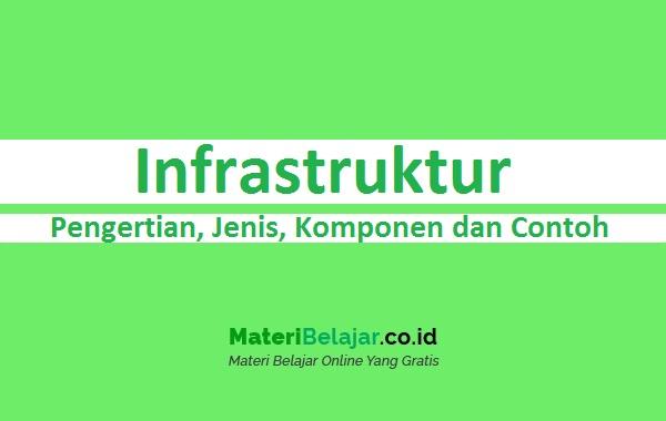 Pengertian Infrastruktur