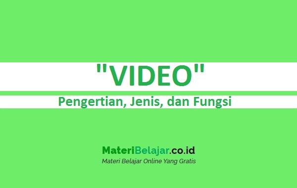 Pengertian Video