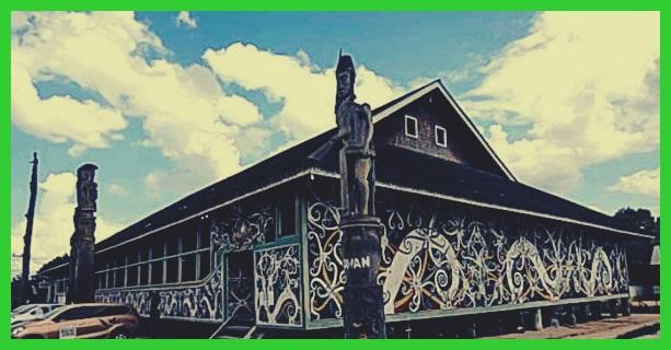 94 Koleksi Contoh Gambar Rumah Lamin HD