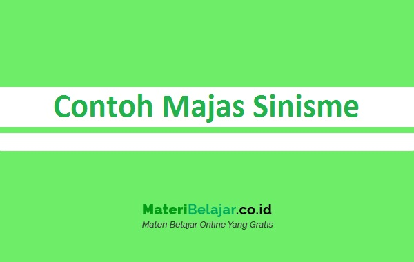Contoh Majas Sinisme