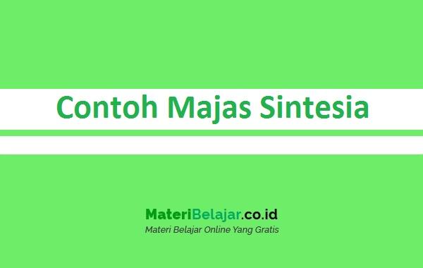 Contoh Majas Sintesia