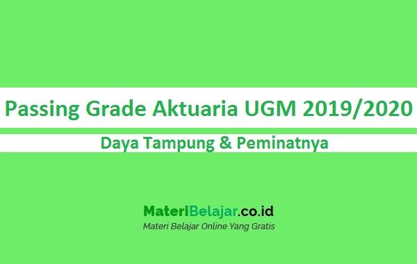 Passing Grade Aktuaria UGM