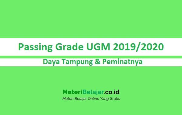 Passing Grade UGM 2019