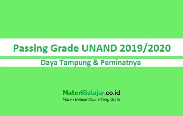 Passing Grade UNAND 2019