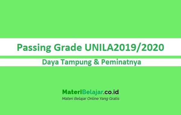 Passing grade UNILA