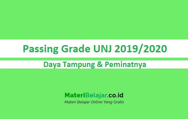 Passing grade UNJ