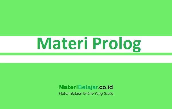 Pengertian Prolog