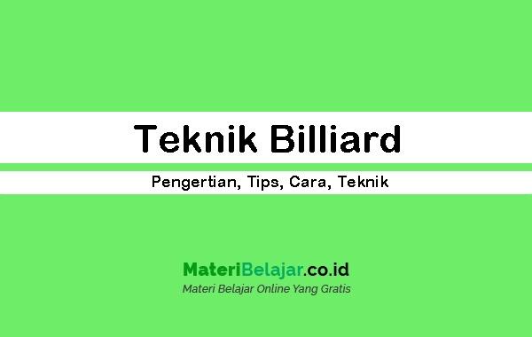 Teknik-Billiard