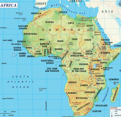Karakteristik Benua Afrika