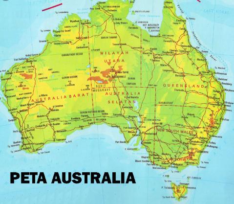 Karakteristik Benua Australia