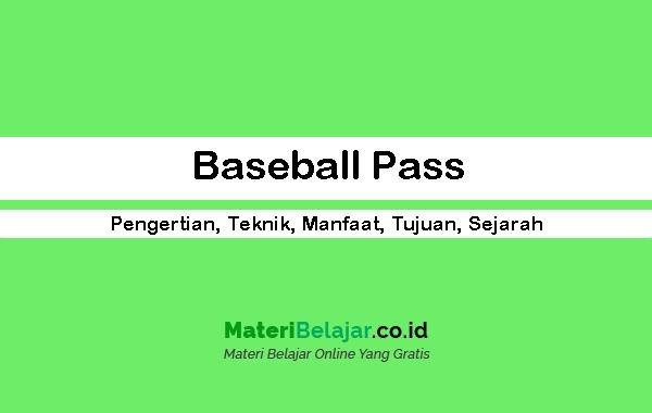 Baseball-Pass