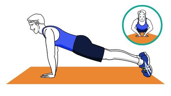 Teknik-push-up