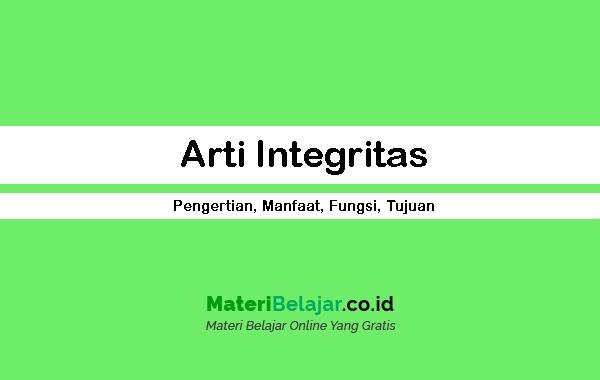 Arti Integritas