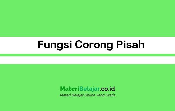 Fungsi Corong Pisah