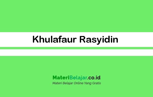 Khulafaur Rasyidin