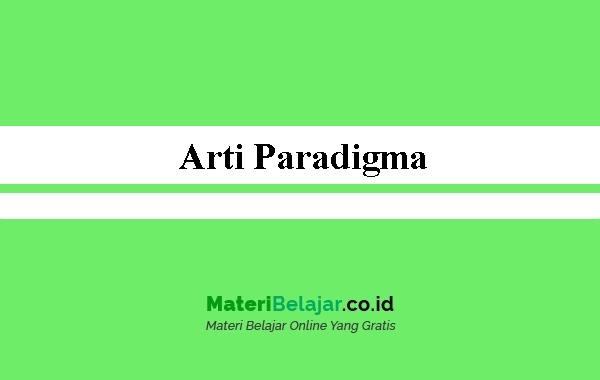 Arti Paradigma