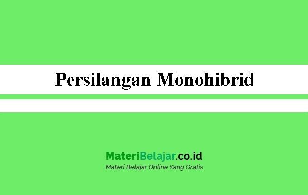 Persilangan-Monohibrid