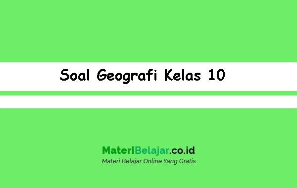 Soal-Geografi-Kelas-10