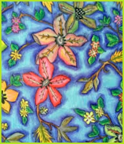 Gambar Ragam Hias Flora Bunga Yang Mudah - Gambar Ngetrend ...