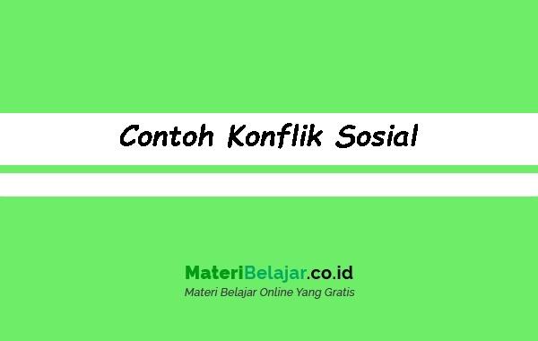 Contoh-Konflik-Sosial
