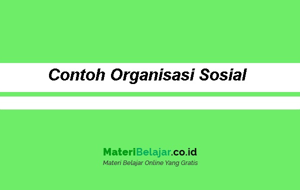 Contoh-Organisasi-Sosial