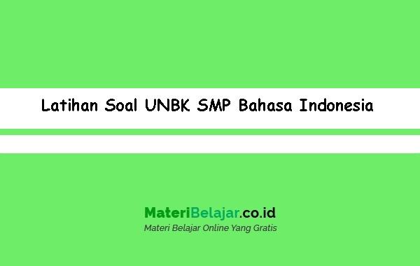 Latihan-Soal-UNBK-SMP-Bahasa-Indonesia