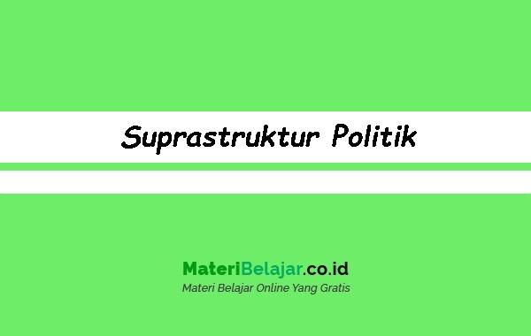Suprastruktur-Politik