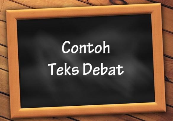 contoh teks debat pro dan kontra