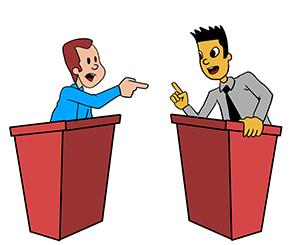 contoh teks debat beserta strukturnya