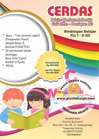 contoh leaflet pendidikan