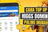 Higgs Domino Top Up Dana